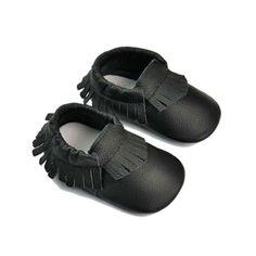 Bebe-Menino-Menina-macio-unico-berco-sapatos-de-couro-infantil-crianca-de-recem-nascido-para-24