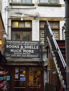 Bookshop in Southport, UK