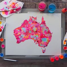 Happy Australia Day! This print is now available to purchase (link in profile). Where are you from?     #HappyAustraliaDay #australiaday2016 #australiaday #strayaday #Australia