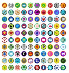 A free set of Foursquare-inspired gamification badges using our Symbly icons. Should be useful if you are building your own gamification sys...