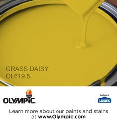 GRASS DAISY OL619.5 is a part of the greens collection by Olympic® Paint.
