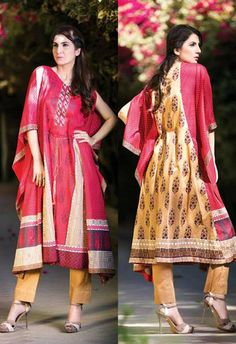 Latest Summer Dresses Collection 2014 For Girls Orient Textiles 4 Latest Summer Dresses Collection 2014 For Girls Orient Textiles