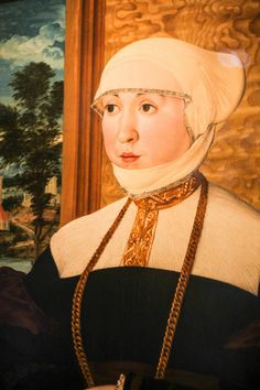 Portrait of Anna Reitmor, by Hans Mielich, ar. 1539-40. Old Masters at the Courtauld Gallery | by Laura H