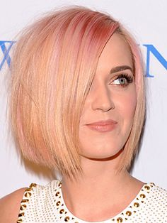 Hey, if you're blonde, throw some pink in it. I'm jealous, 'cause this is pink-hot!