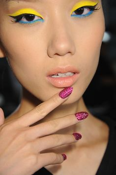 New York Fashion Week backstage beauty: 57 pictures of the best manicures and…