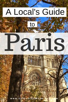 Skip the tourist crowds and see Paris like a local Paris Travel Guide, Europe Travel Tips, Places To Travel, Travel Destinations, Places To Visit, Travel Goals, European Destination, European Travel, Backpacking Europe