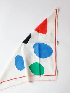 Clare V - Bandana - Leaf Print