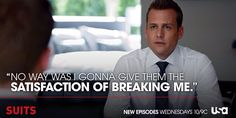 #CantBreakMe Harvey Specter Quotes