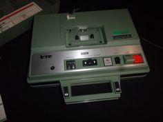 Vintage 3M Wollensak Cassette Player - Model 2610AV - Original Box - Works! #WOLLENSAK