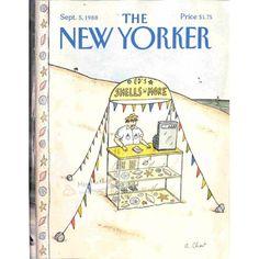 Cover Print of The New Yorker, September 5 1988 | $4.72