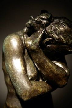...The main thing is to be moved, to love, to hope, to tremble, to live. Be a man before being an artist!... (Auguste Rodin)  Auguste Rodin Eve