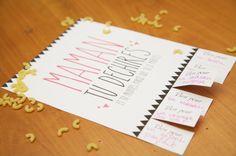 Maman tu déchires, imprimez et inscrivez des bons pour des bisous, massage ... Soyez créatifs pour la fête des mamans