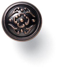Merillat Classic® Venetian Bronze Copper French Lace Knob - Merillat