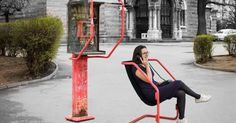Martin Angelov upcycles an abandoned telephone booth into public seating Storage Bench Seating, Booth Seating, Floor Seating, Public Seating, Office Seating, Entryway Hall Tree, Street Furniture, Furniture Nyc, Cheap Furniture