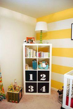 Ikea expedit kids room