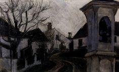 Egon Schiele Landscapes 9