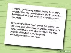 How To Write Resignation Letters  Opinion Of Professionals