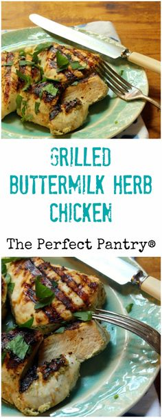 Grilled Chicken Breasts With Buttermilk Marinade Recipe ...