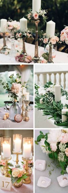 Elegant Wedding Centerpieces Ideas | Romantic Wedding Decoration | Rustic wedding centerpieces #weddings
