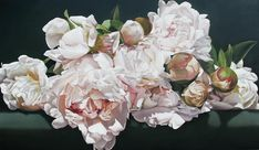 Peonies Painting by Thomas Darnell
