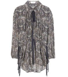 mytheresa.com -  Printed crepon silk blouse - Luxury Fashion for Women / Designer clothing, shoes, bags