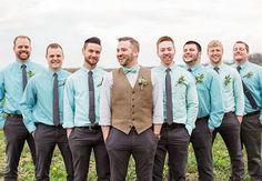 bright casual groomsmen attire   Lauren Fair Photography   Blog.theknot.com: