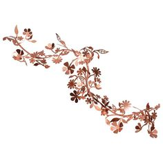 Flora, Copper, Garden, Outdoor, Indoor, Decor, Hanging Branch, Tord Boontje   From a unique collection of antique and modern architectural elements at https://www.1stdibs.com/furniture/building-garden/architectural-elements/