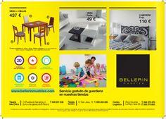 "Catálogo ""Me gusta"" Muebles Bellerín Huelva"