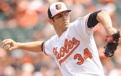 Jake Arrieta, #34. Baltimore Orioles.