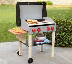 Play Barbecue Set | Pottery Barn Kids