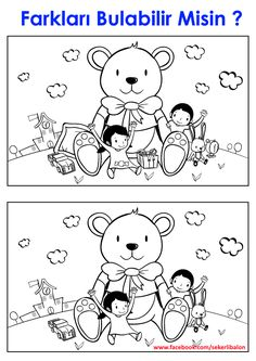 7 Spot the Difference Worksheets Coloring 001 30 Best Surask skirtumus images √ Spot the Difference Worksheets Coloring 001 . 7 Spot the Difference Worksheets Coloring 30 Best Surask Skirtumus Images Find The Difference Pictures, Teddy Bear Coloring Pages, Giant Teddy, Hidden Pictures, Picture Puzzles, Activity Sheets, Kindergarten Worksheets, Preschool Activities, Printable Coloring