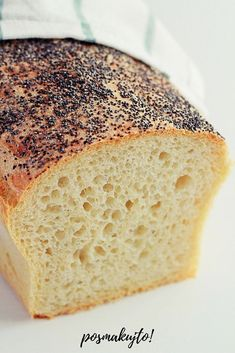 latwy chleb pszenny z makiem na drozdzach Healthy Bread Recipes, Banana Bread, Healthy Lifestyle, Food And Drink, Yummy Food, Cooking, Cake, Desserts, Breads