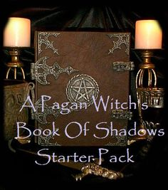 A Pagan Witch's Book Of Shadows Starter Kit by CellDara on Etsy, $10.00