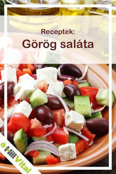 Elkészítés A citromlevet, olívaolajat, morzsolt oregánót keverjük össze egy csészében, és hagyjuk egy órát pihenni, hogy az ízek összeérjenek.  Aprítsuk fel a paradicsomot, uborkát, hagymát, az olívabogyókat magozzuk ki, és vágjuk félbe. Végül a fetát vágjuk kb. 5x5 mm-es kockákra. Fruit Salad, Feta, Fruit Salads