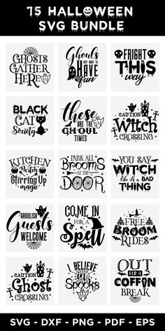 Halloween SVG Bundle, Halloween SVG Cut Files #halloweensvgbundle #halloweensvg #bundle #halloween #svgbundle #halloweenquote #witch #spookssvg #halloweensvgcutfiles #holloweenshirtdesigns Halloween Wreaths, Halloween Quotes, Scene Creator, Line Design, Journal Cards, Svg Cuts, Design Bundles, School Design, Vintage Halloween