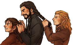 Durin hair braiding