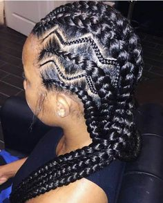 Iverson braids are named after NBA player Allen Iverson who was known for his cornrow hairstyles. Here's a quick tutorial plus 30 ways to wear Iverson braids. Braided Hairstyles For Black Women, Braids For Black Hair, Trendy Hairstyles, Hair For Braiding, Hairstyles 2018, Beautiful Hairstyles, Braids For Black Women Cornrows, African Hairstyles For Kids, Fashion Hairstyles