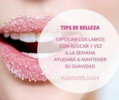 Simples trucos para unos labios suaves y saludables #YaPonteBella