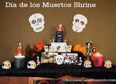 Day of the Dead Paper Calaveritas: Easy Kids Craft for Dia de los Muertos | Chocolate Cake Moments