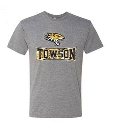 #Towson University Yellow Camo Banner Shirt for $11.99 @BookHolders 208 York Rd. Towson, MD 21204