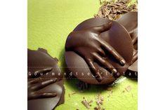 """Medaille et sucette Nicolat """"La fin du monde"""" Haute couture chocolat"""