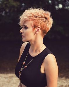 Are you still in love with your snazzy pixie cut – but looking to refresh your cut/color?