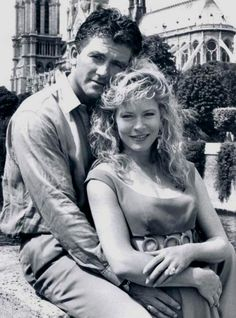 Sheree J. Wilson played April Stevens who became the second Mrs. Bobby Ewing