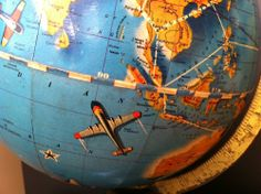 Wouldn't it be fun to spin the globe and pick a location with your eyes closed?