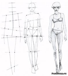 How to Draw Body Shapes Step by Step Human Body Drawing, Human Figure Drawing, Figure Sketching, Illustration Techniques, Fashion Illustration Sketches, Fashion Sketches, Female Body Art, Body Sketches, Art Sketches