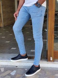 Blue Jeans Outfit Men, Blue Jean Outfits, Stylish Men, Men Casual, Punjabi Salwar Suits, Formal Suits, Jeans Material, Black Suits, Jeans For Sale