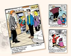 2017 Promotional Wall Calendars - Dennis The Menace Comic Art Calendar - January Wall Calendars, Art Calendar, Dennis The Menace Comic, Movie Theater, Comic Art, January, Advertising, Comics, Cinema Movie Theater