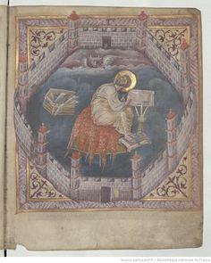 Evangelia quattuor [Évangéliaire dit de sainte Aure]. IXe s. Type : manuscrit Langue : Latin