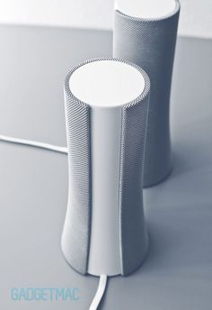 179 Most Beautiful Portable Speaker Designs Id Design, Shape Design, Design Trends, Audio Design, Speaker Design, Mingyu, Cylinder Shape, Bottle Design, Design Reference