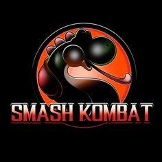 """Smash Kombat"" by JayHai is $10 today at ShirtPunch.com (04/13). #tshirt #MortalKombat #SSBB #Yoshi #Nintendo #VideoGames"